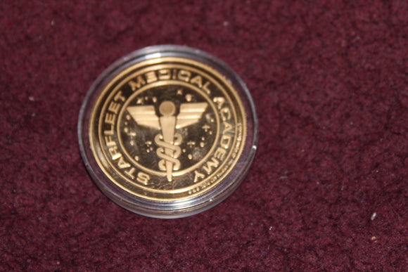 LasVegas Hilton Collector Coin Featuring The Starfleet Medical Logo