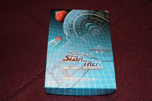 The Making of Star Trek the next Generation Collector cards by Skybox