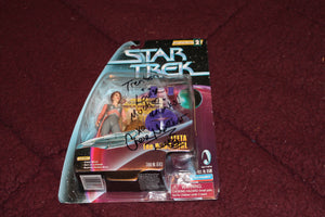 Leeta the Dabo Girl Action Figure AUTOGRAPHED by Chase Masterson