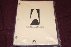 "Star Trek ""Generations"" Movie Script."