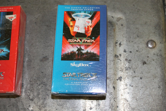 Skybox Cinema Collectors Edition Star Trek V the Undiscovered Country