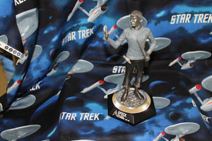 Franklin Mint Spock Pewter Figure released in 1977