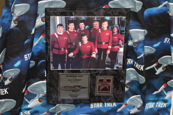 Original Crew Movie Plaque from QVC