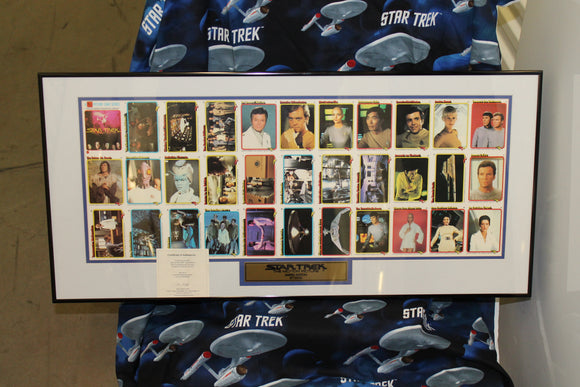 Star Trek The Motion Picture Uncut Card Sheet
