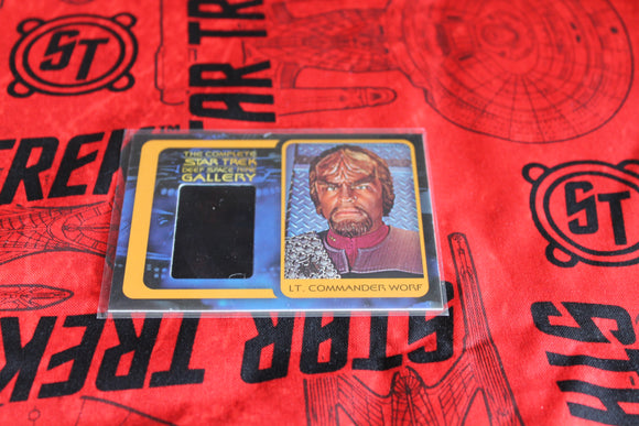 Lt. Worf Gallery Card