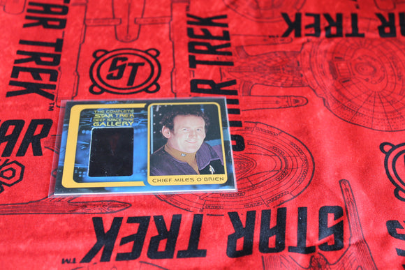 Miles O'Brien Gallery Card