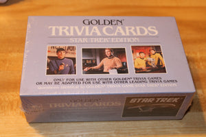 Star Trek Trivia Cards