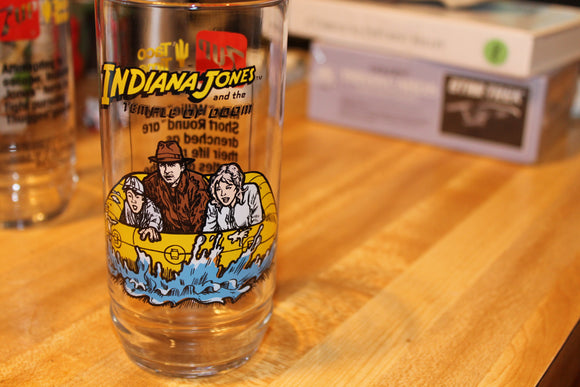 Indiana jones and the temple of doom glass