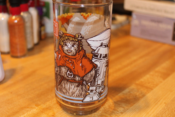 Star Wars Return of the Jedi Glass