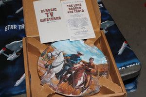 The Lone Ranger and Tonto Collector Plate