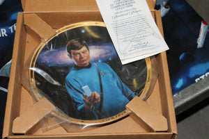 25th Anniversary Plate Dr. McCoy