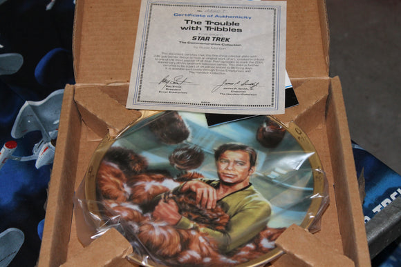 25th Anniversary Plate  Captain Kirk