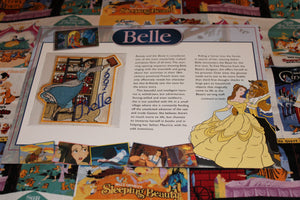 "Willabee and Ward Disney Collector Patch ""Belle"""