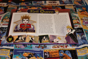 "Willabee and Ward Disney Collector Patch ""Evil Queen"""