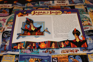 "Willabee and Ward Disney Collector Patches, ""Jafar and Iago"""