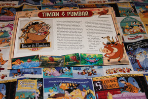 "Willabee and Ward Disney Collector Patch ""Timon and Pumba"""