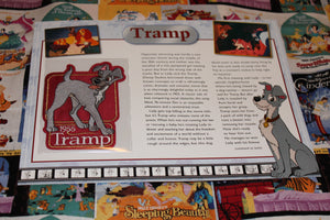 "Willabee and Ward, Disney Collector Patch ""Tramp"""