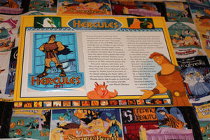 "Willabee and Ward Disney Collector Patch ""Hercules"""