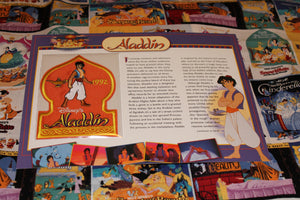 "Willabee and Ward Disney Collectors Patch ""Aladdin"""