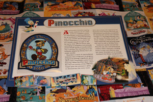 "Willabee and Ward Disney Collector Patch ""Pinocchio"""