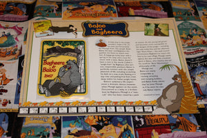 "Willabee and Ward Disney Collector Patch """"Baloo and Bagheera"""