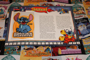 "Willabee and Ward Disney Collector Patch ""Stitch"""