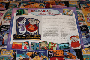 "Willabee and Ward Disney Collector Patch ""Bernard and Miss Bianca"""