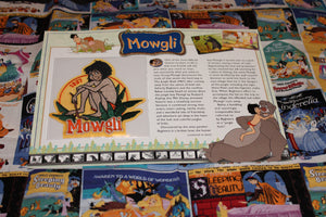 "Willabee and Ward Disney Collector Patch ""Mowgli"""