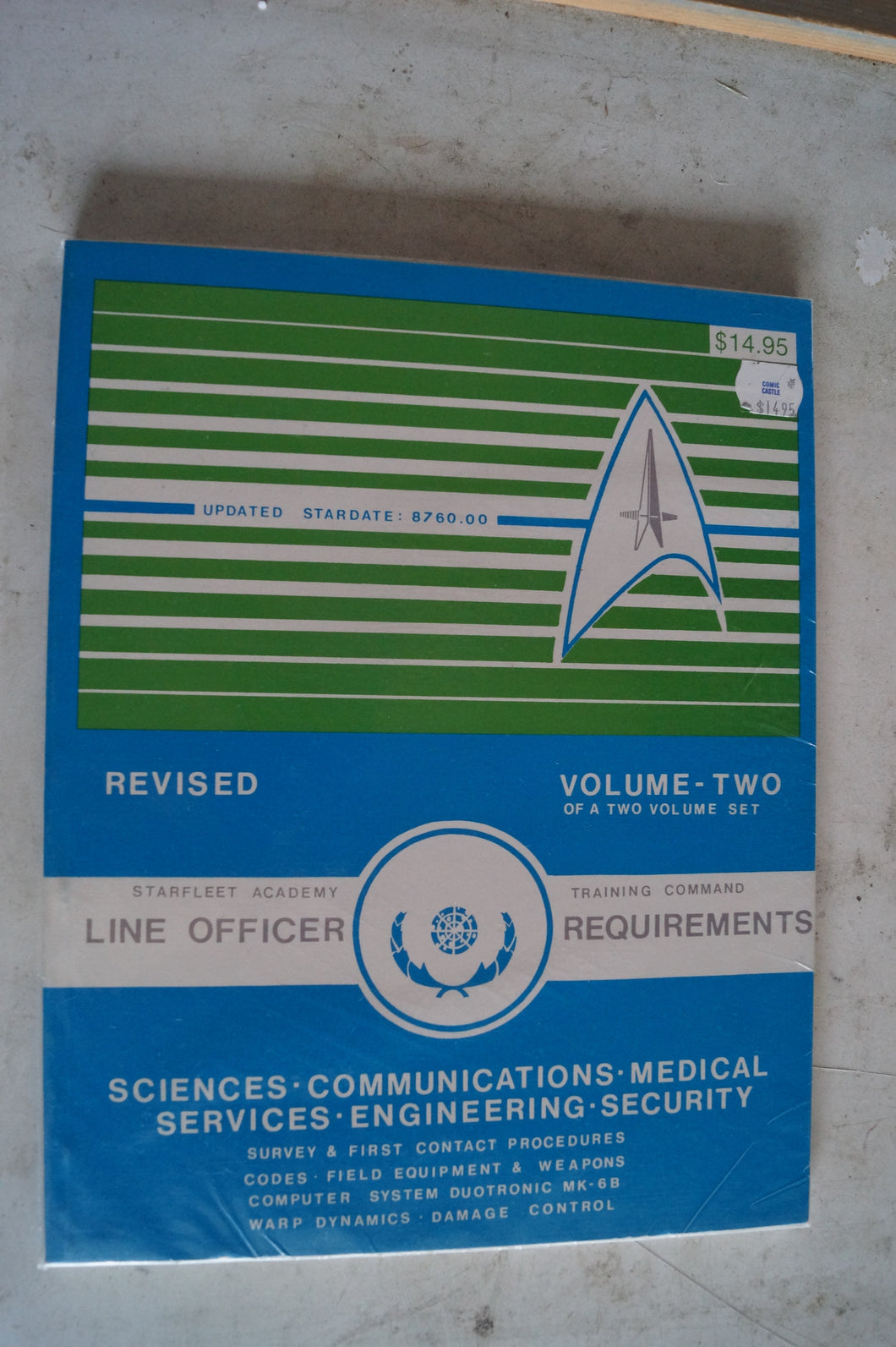 Starfleet Command Line Officer Requirements Vol 2