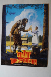 The Giant of Thunder Mountain AUTOGRAPHED