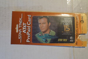 Star Trek AT&T collectible phone card