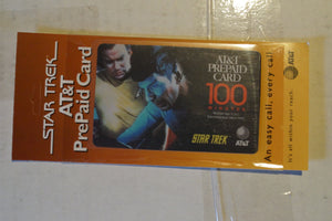 Star trek AT&T Collector Phone Cards Kirk and Spock