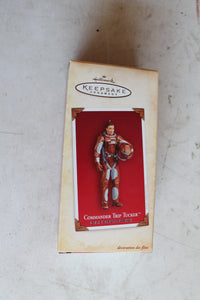 Hallmark Keepsake Ornament Commander Trip Tucker
