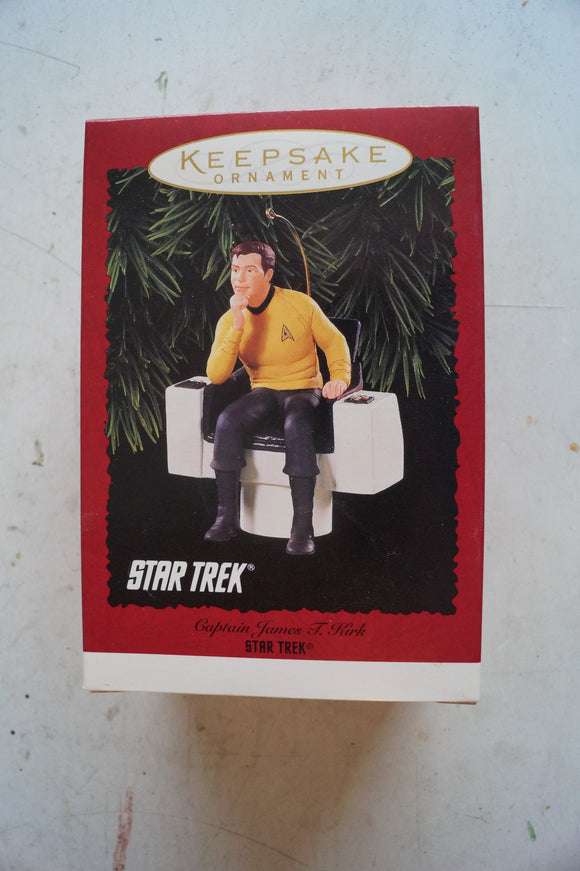 Hallmark Keepsake Ornament  Captain James T Kirk
