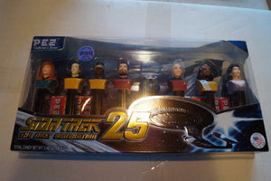 Star Trek TNG Pez 25th anniversary Edition