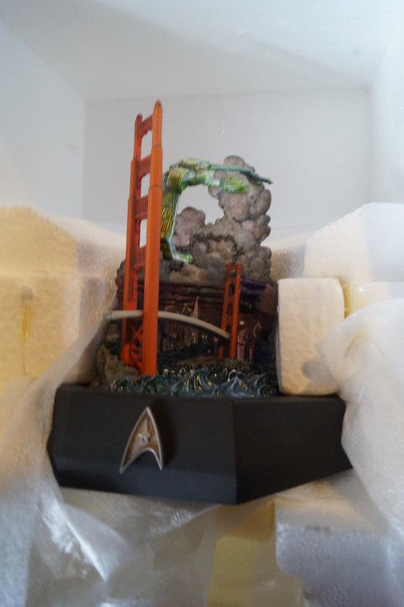 Franklin Mint Star Trek The Voyage Home Diorama