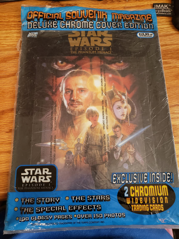 Star Wars Episode 1 Collector Magazine
