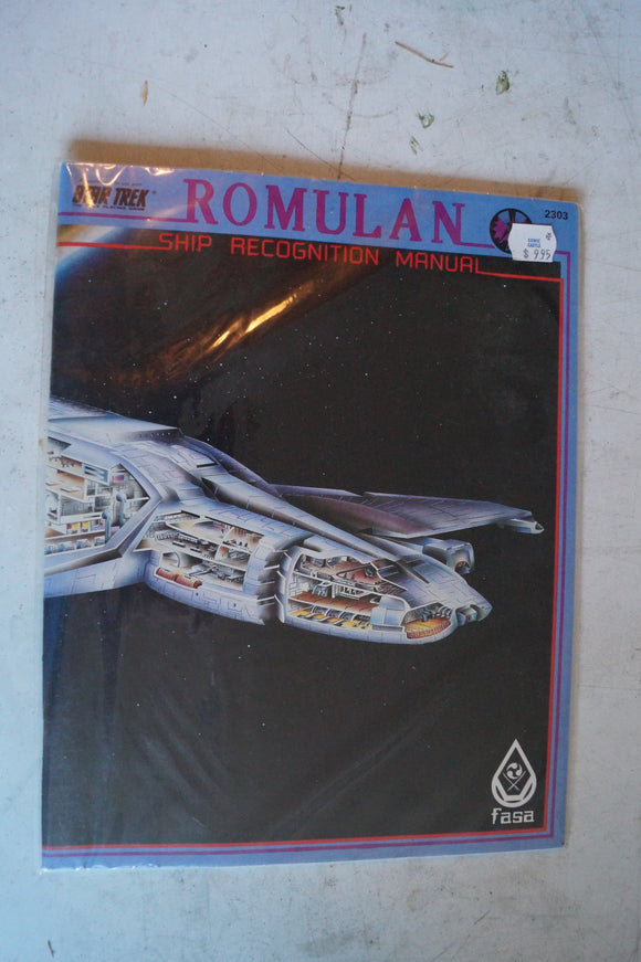 FASA Romulan Ship Recognition Manual