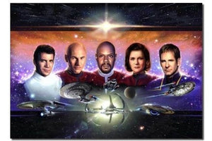 Lightspeed fine arts The Five Captains AUTOGRAPHED