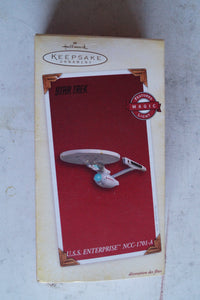 Hallmark Keepsake Ornament USS Enterprise NCC-1701A