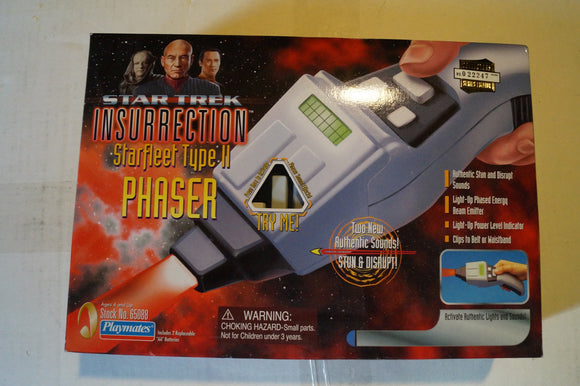 Playmates ,Star Trek Insurrection type 2 phaser