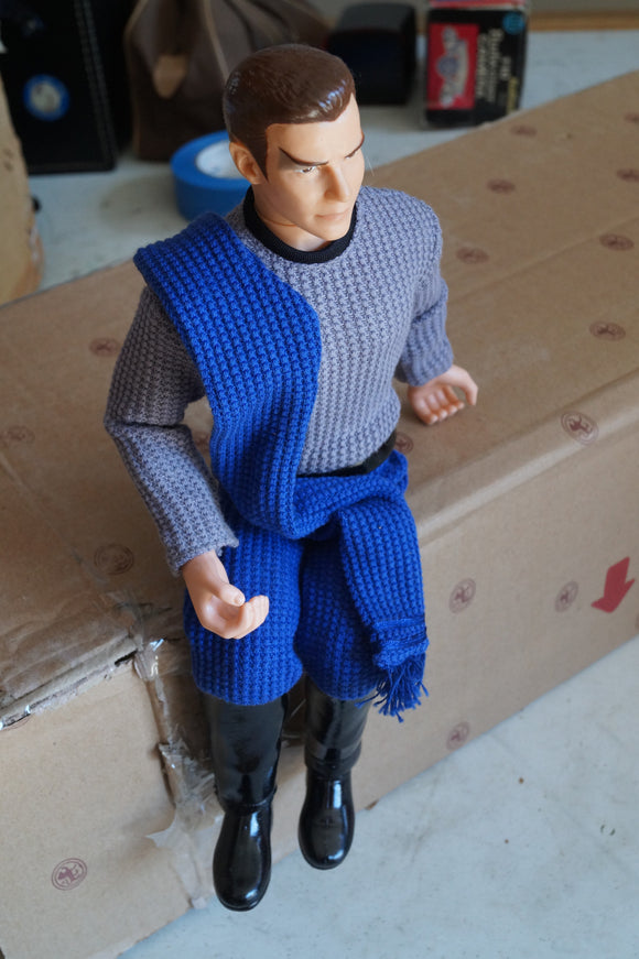 Captain Kirk as A Romulan Porcelain Doll