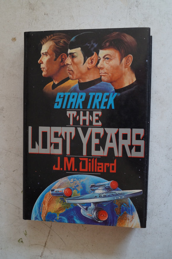 Star Trek The Lost years by JM Dillard
