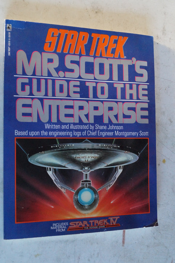 Mr Scott's Guide to the Enterprise