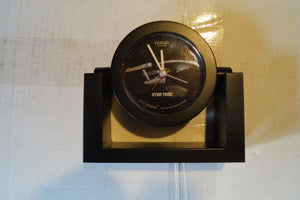 Starship Enterprise Table Clock