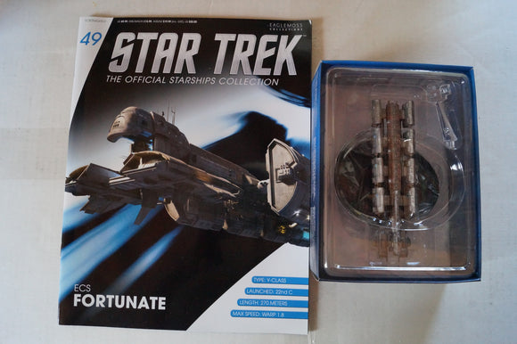 Eaglemoss Official Starships Collection ECS Fortunate
