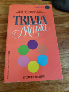 Trivia Mania Book Star Trek Edition