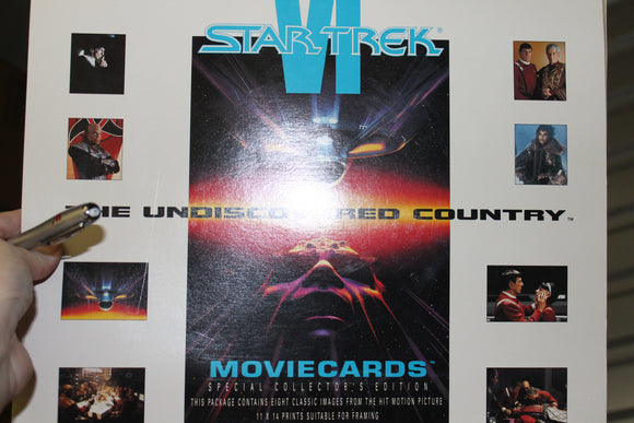 Star Trek 6 The Undiscovered Country Movie Cards