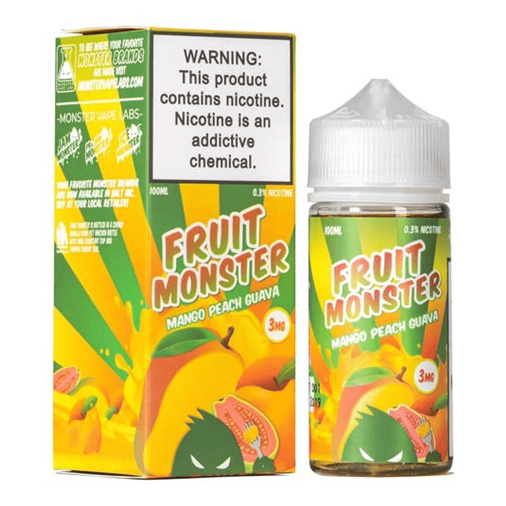 Mango Peach Guava by Fruit Monster 100ML EJUICE
