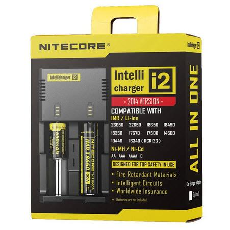 Nitecore New i2 Battery Charger - Battery Charger